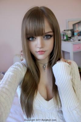 idegue-network.blogspot.com - KotaKoti, Gadis 16 Tahun yang Mirip Dengan Boneka Barbie